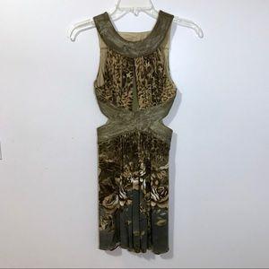 NWOT Keyhole Party Dress Size Medium